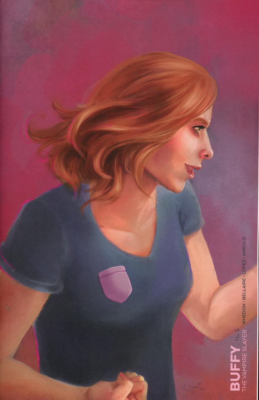 Buffy The Vampire Slayer Vol 2 #5 Cover E Variant Kaiti Infante Slayer Cover