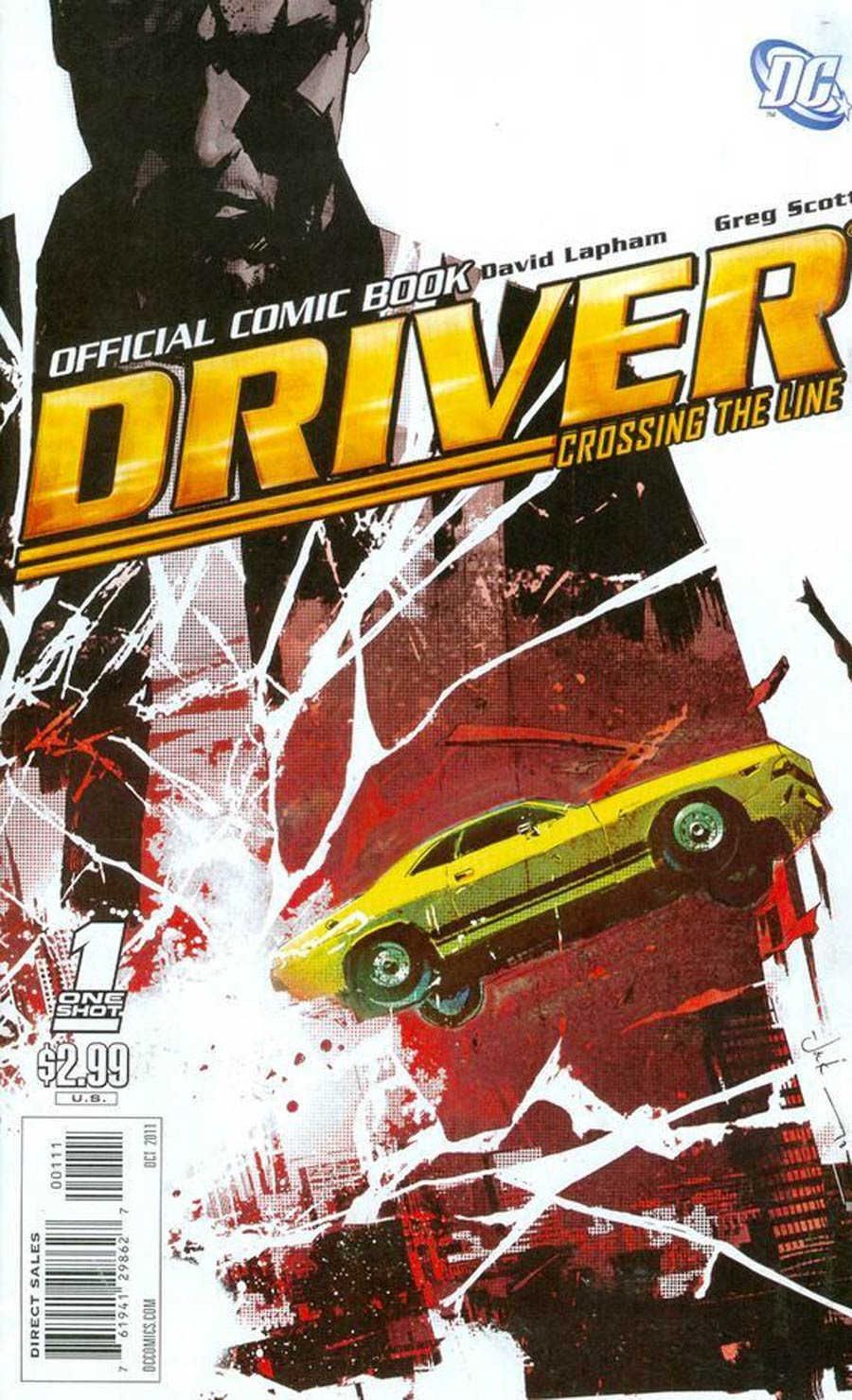 Driver Crossing The Line #1 Cover A Red Cover