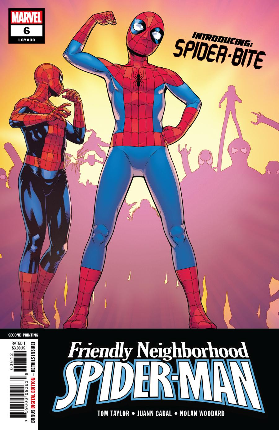 Friendly Neighborhood Spider-Man Vol 2 #6 Cover C 2nd Ptg Variant Cover