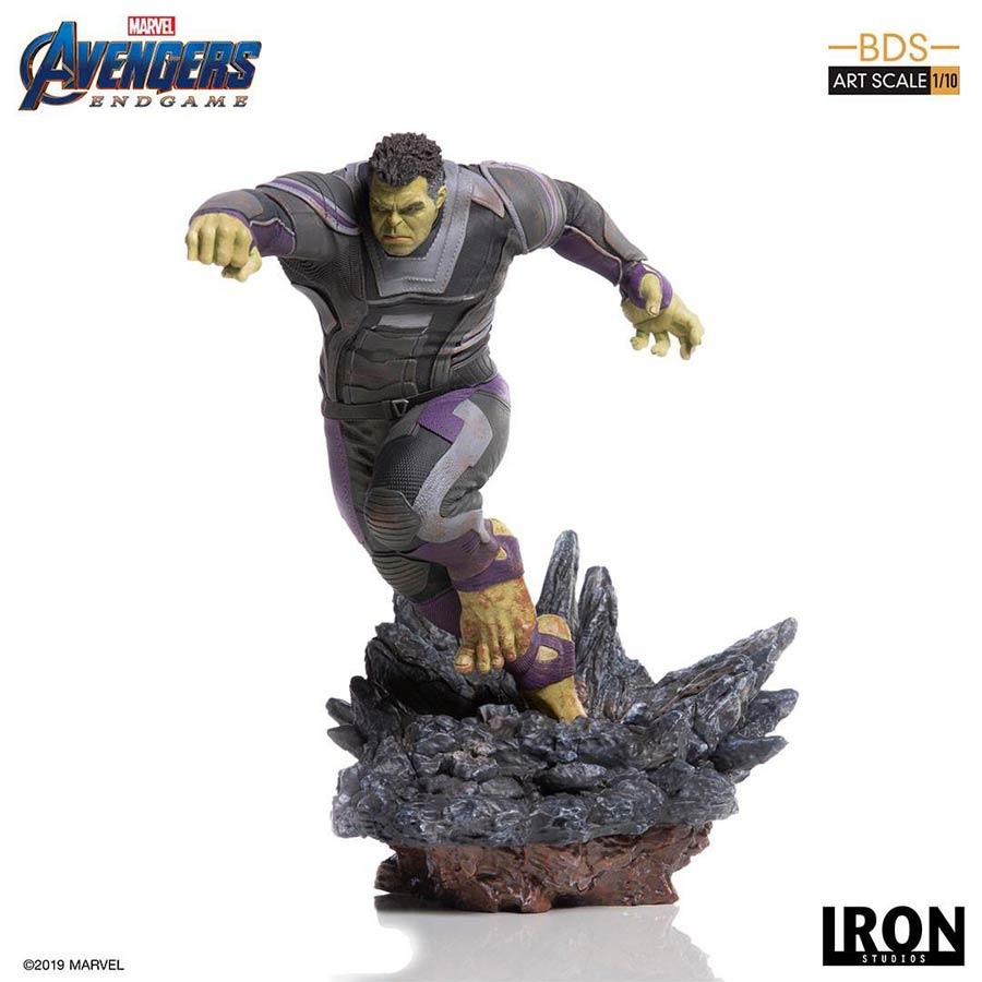 Avengers Endgame Hulk 1/10 Scale Battle Diorama Art Scale Statue