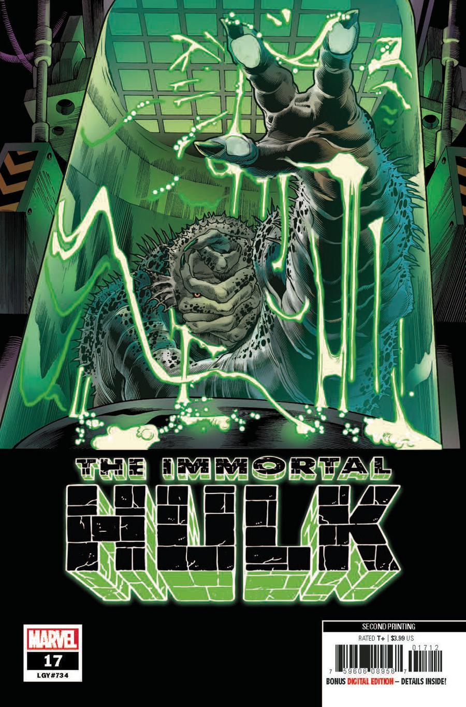 Immortal Hulk #17 Cover C 2nd Ptg Variant Joe Bennett Cover