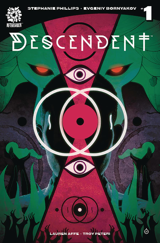 Descendent #1 Cover C 2nd Ptg Variant Juan Doe Cover