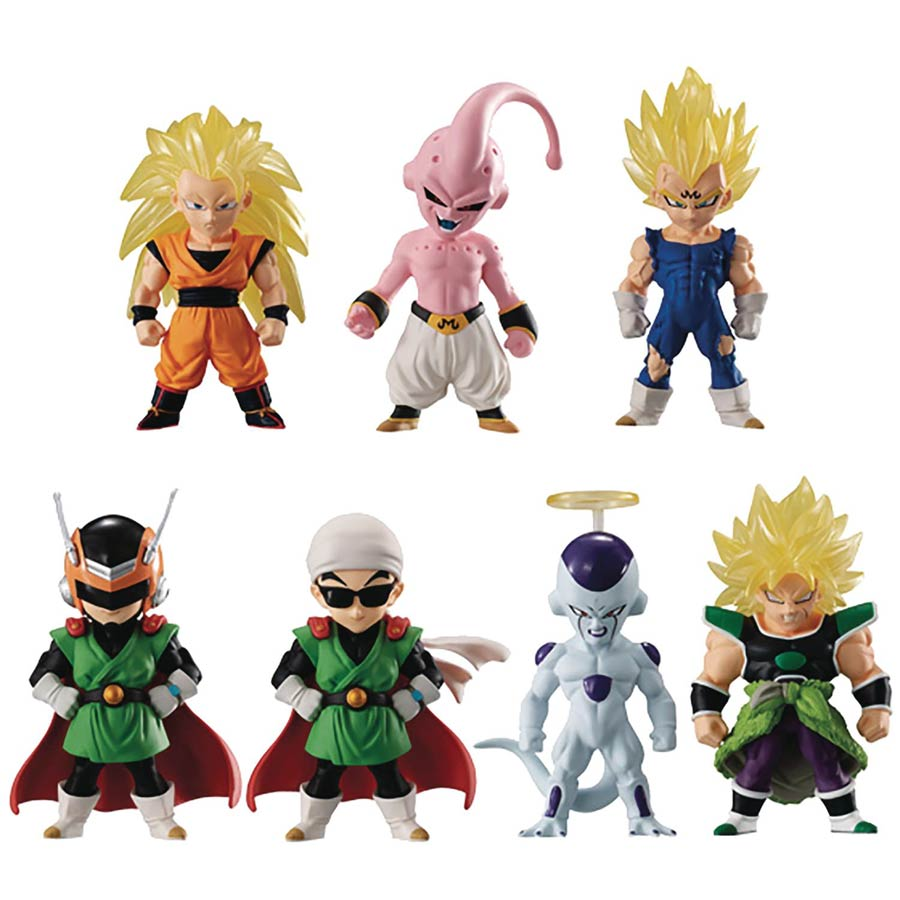 Bandai 7 Figurines Set complet- Dragon Ball Adverge 10