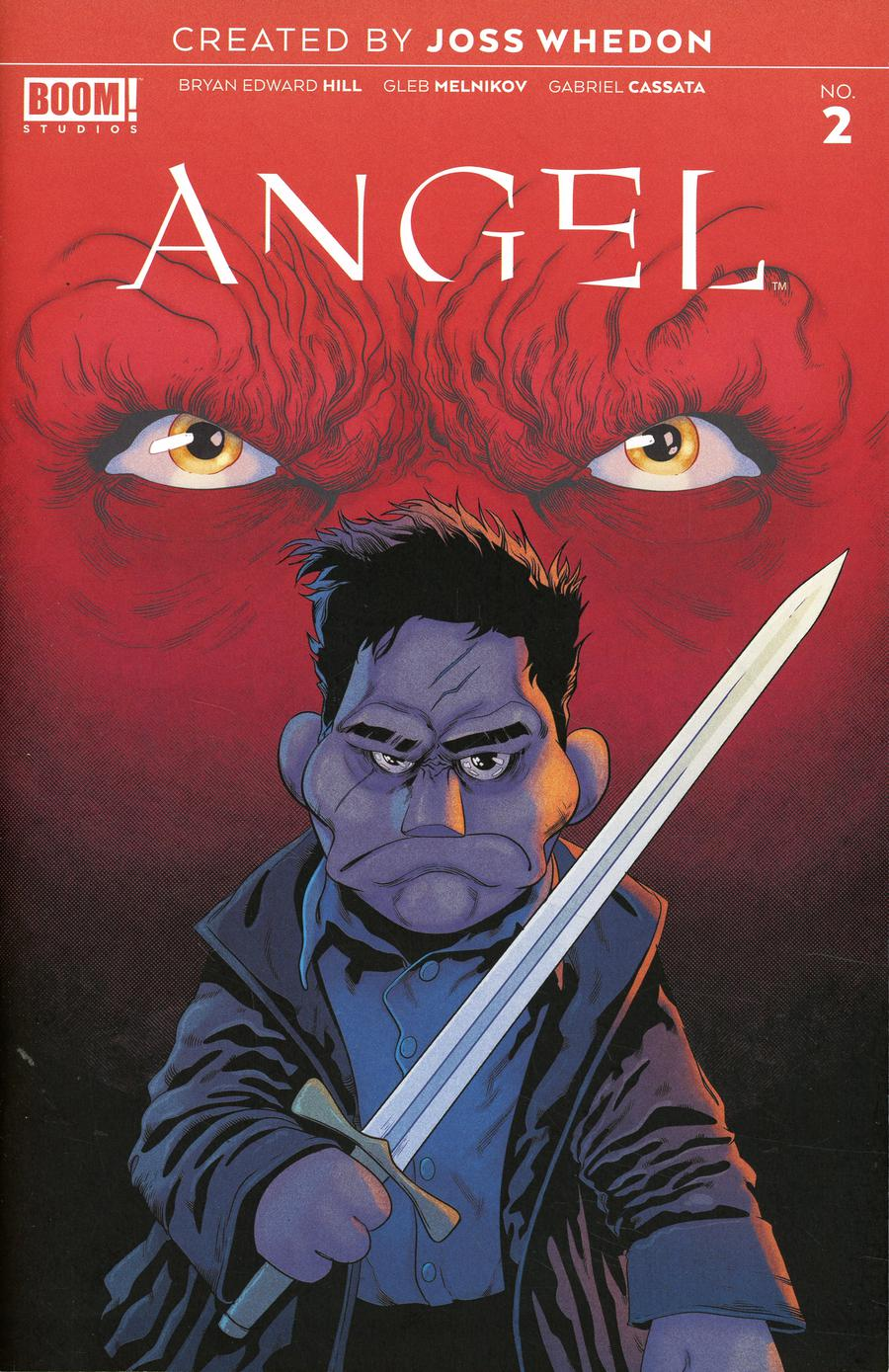Angel Vol 4 #2 Cover C Incentive Will Sliney Variant Cover