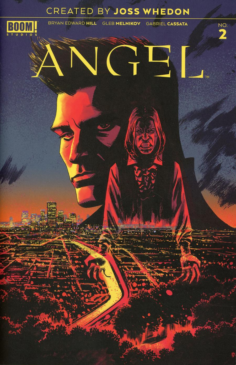 Angel Vol 4 #2 Cover D Incentive Adam Gorham Variant Cover
