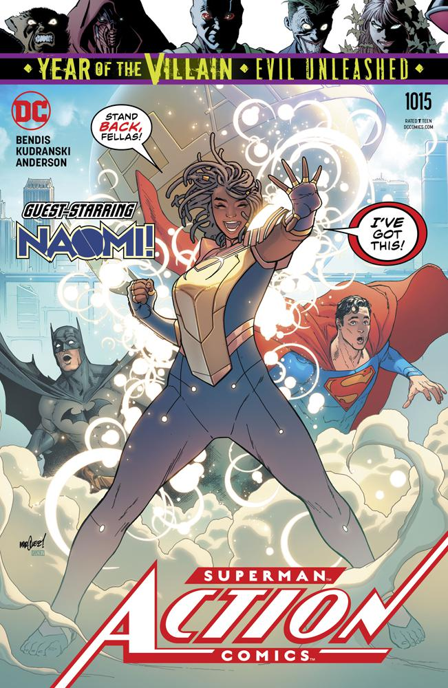 Action Comics Vol 2 #1015 Cover A Regular David Marquez Cover (Year Of The Villain Evil Unleashed Tie-In)