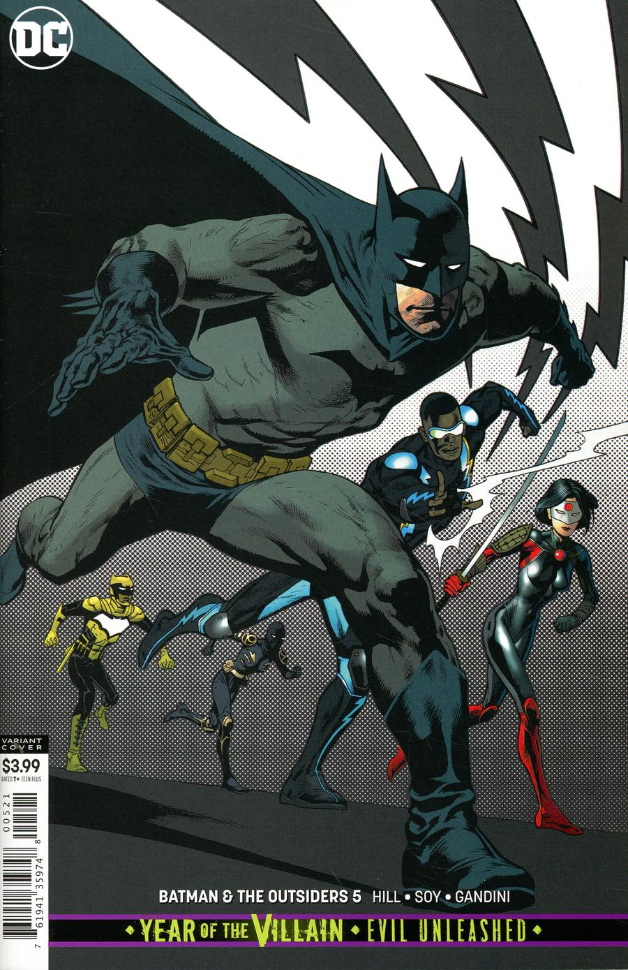 Batman And The Outsiders Vol 3 #5 Cover B Variant Kevin Nowlan Cover (Year Of The Villain Evil Unleashed Tie-In)