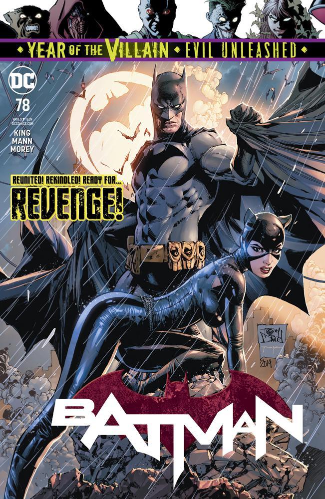 Batman Vol 3 #78 Cover A Regular Tony S Daniel Cover (Year Of The Villain Evil Unleashed Tie-In)