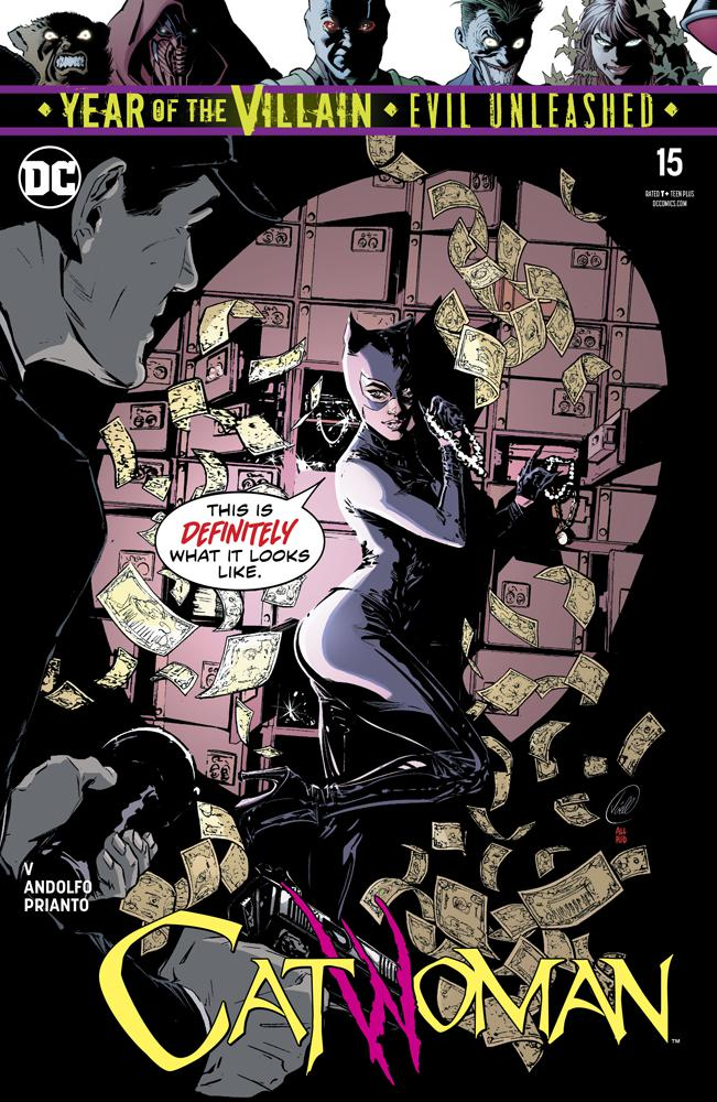 Catwoman Vol 5 #15 Cover A Regular Joelle Jones Cover (Year Of The Villain Evil Unleashed Tie-In)