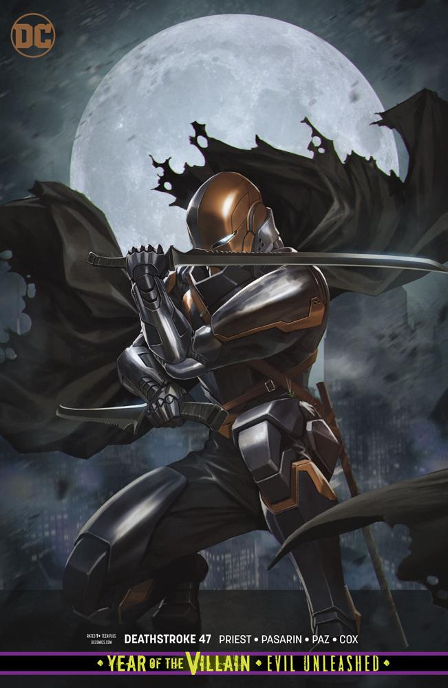 Deathstroke Vol 4 #47 Cover B Variant Skan Cover (Year Of The Villain Evil Unleashed Tie-In)