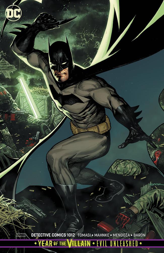 Detective Comics Vol 2 #1012 Cover B Variant Ryan Sook Cover