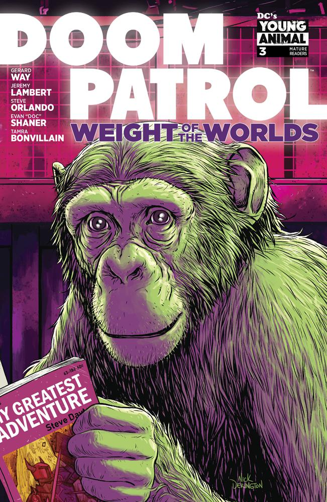 Doom Patrol Weight Of The Worlds #3 Cover A Regular Nick Derington Cover