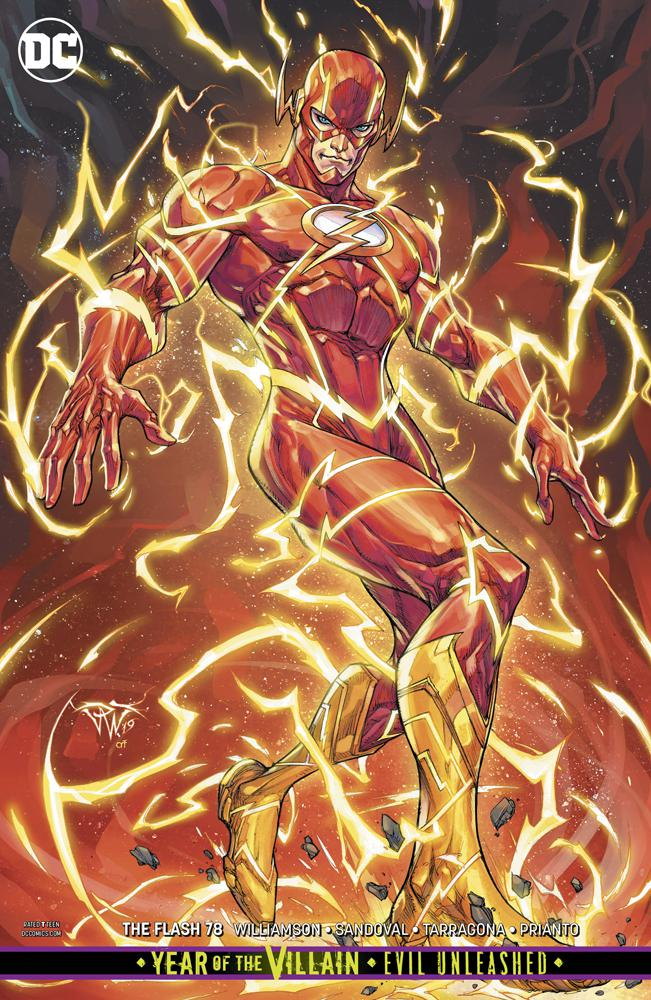 Flash Vol 5 #78 Cover B Variant Paolo Pantalena Cover (Year Of The Villain Evil Unleashed Tie-In)