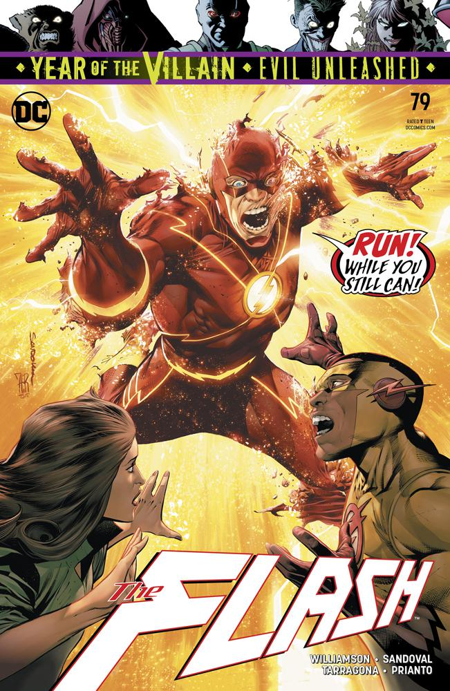 Flash Vol 5 #79 Cover A Regular Rafa Sandoval & Jordi Tarragona Cover
