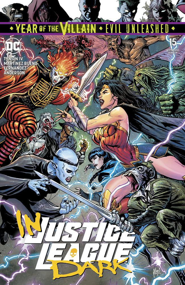 Justice League Dark Vol 2 #15 Cover A Regular Guillem March Cover (Year Of The Villain Evil Unleashed Tie-In)