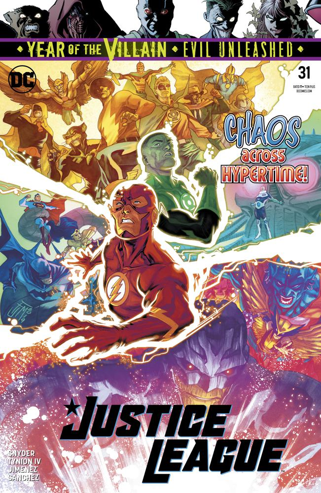 Justice League Vol 4 #31 Cover A Regular Francis Manapul Cover (Year Of The Villain Evil Unleashed Tie-In)