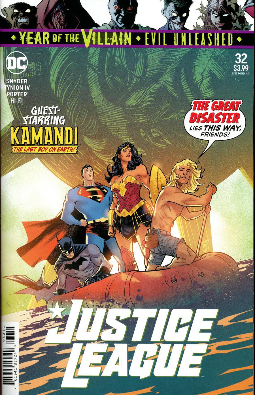 Justice League Vol 4 #32 Cover A Regular Francis Manapul Cover