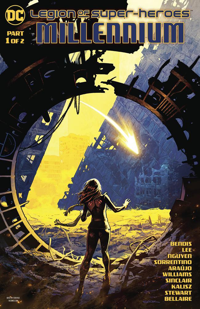 Legion Of Super-Heroes Millennium #1 Cover A Regular Ryan Sook Cover