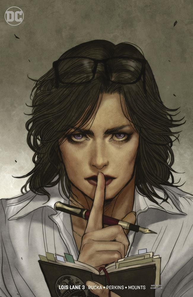 Lois Lane Vol 2 #3 Cover B Variant Nicola Scott Cover