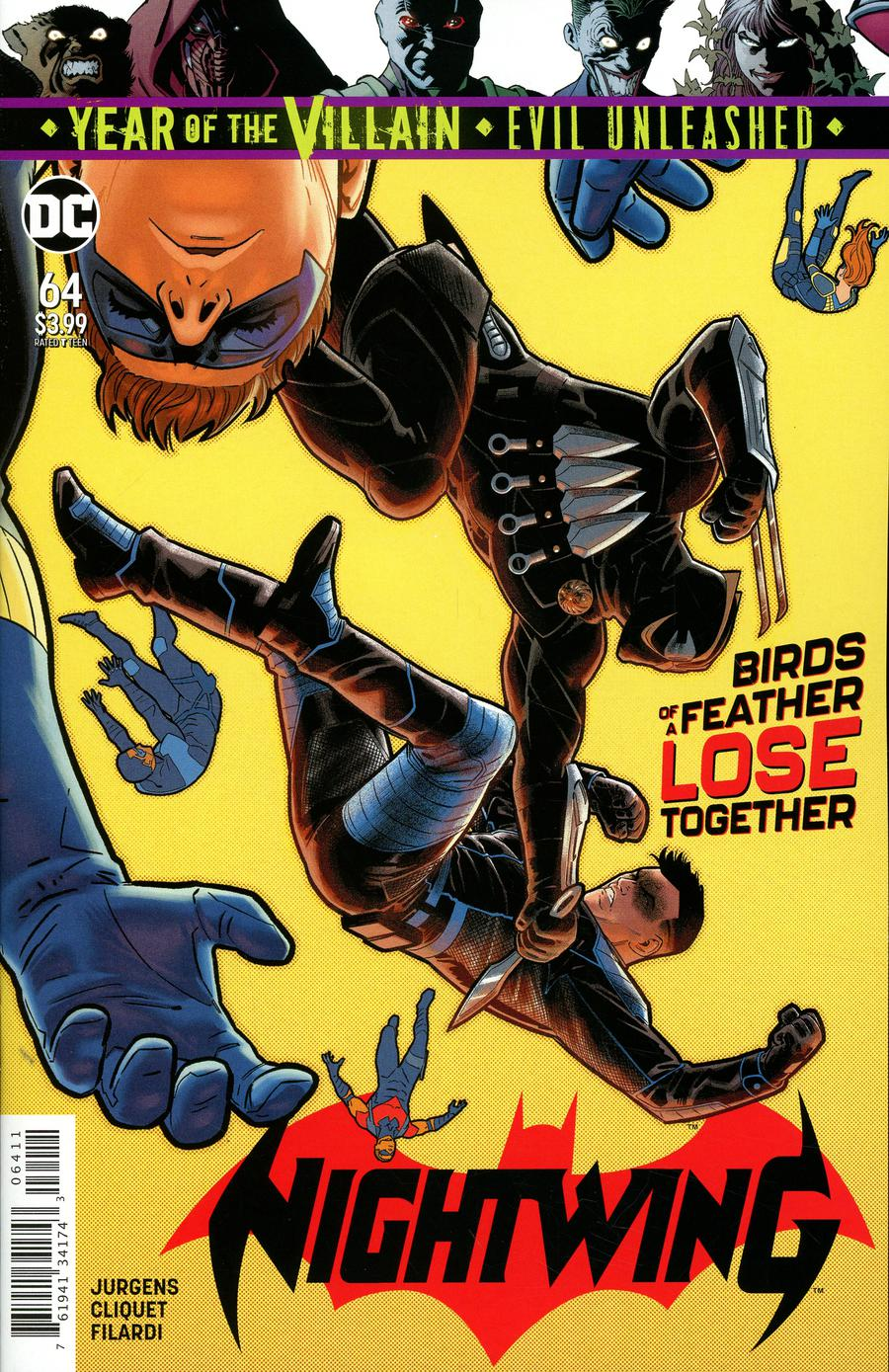 Nightwing Vol 4 #64 Cover A Regular Bruno Redondo Cover (Year Of The Villain Evil Unleashed Tie-In)