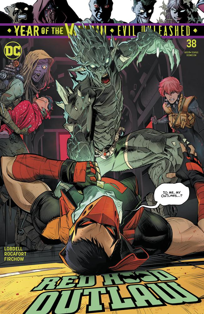 Red Hood Outlaw #38 Cover A Regular Dan Mora Cover (Year Of The Villain Evil Unleashed Tie-In)