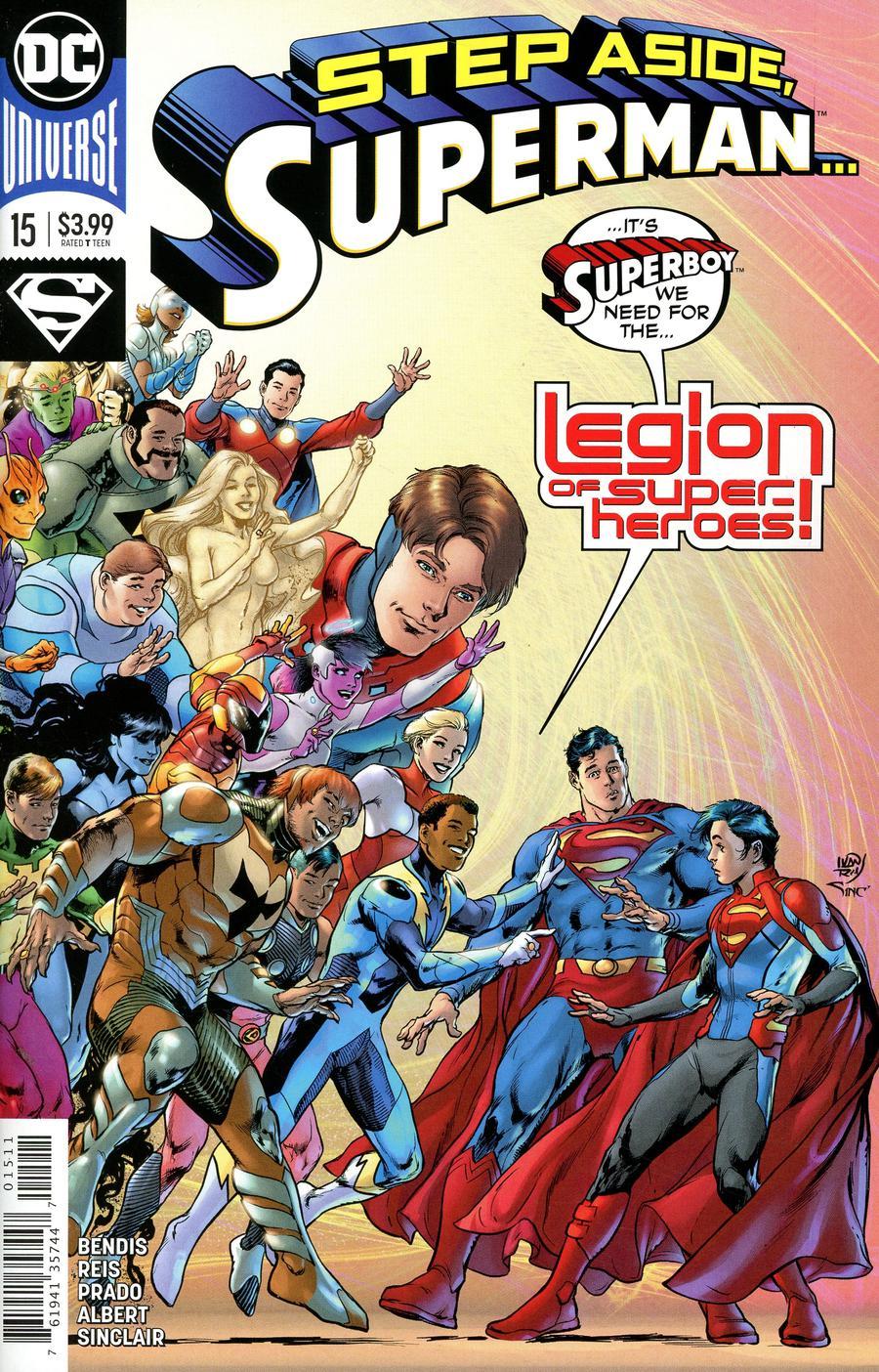 Superman Vol 6 #15 Cover A Regular Ivan Reis & Joe Prado Cover (Year Of The Villain Evil Unleashed Tie-In)