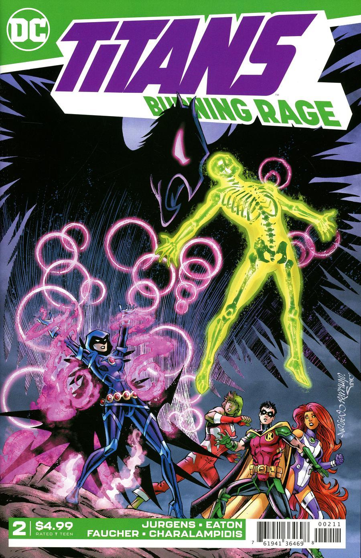 Titans Burning Rage #2