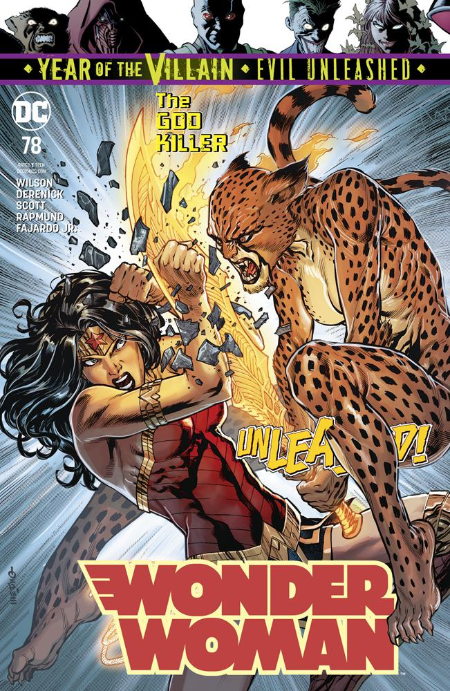 Wonder Woman Vol 5 #78 Cover A Regular Jesus Merino Cover (Year Of The Villain Evil Unleashed Tie-In)