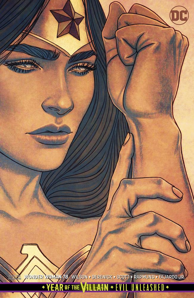 Wonder Woman Vol 5 #78 Cover B Variant Jenny Frison Cover (Year Of The Villain Evil Unleashed Tie-In)