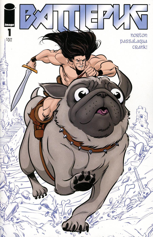 Battlepug #1 Cover A Regular Mike Norton & Allen Passalaqua Cover
