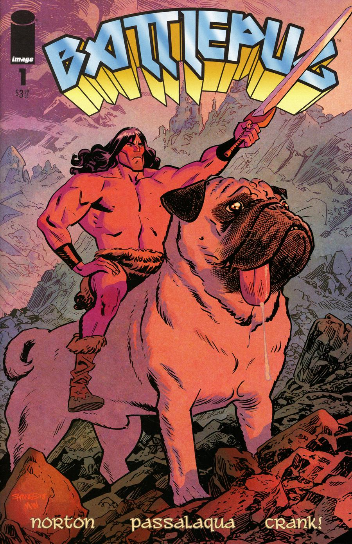 Battlepug #1 Cover B Variant Chris Samnee & Matt Wilson Cover