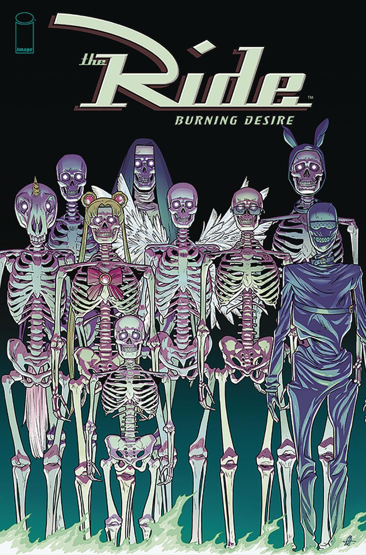 Ride Burning Desire #4 Cover B Variant Daniel Hillyard Cover