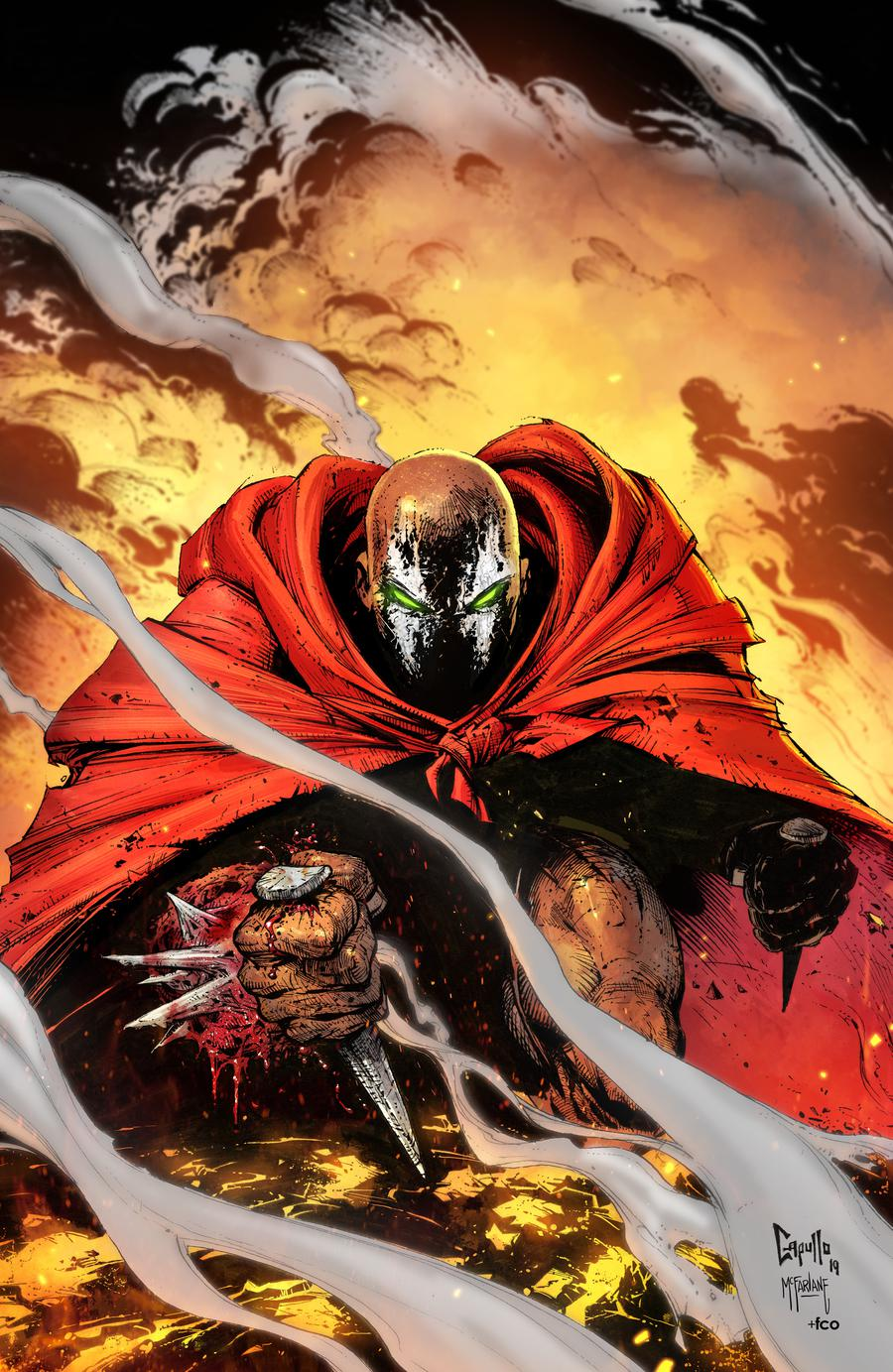 Spawn #301 Cover C Variant Greg Capullo Virgin Cover