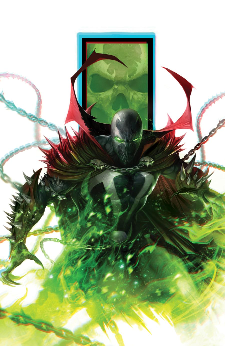 Spawn #301 Cover G Variant Francesco Mattina Virgin Cover