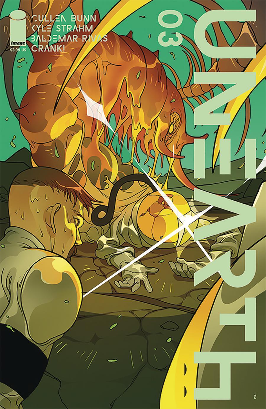 Unearth #3 Cover A Regular Baldemar Rivas Cover