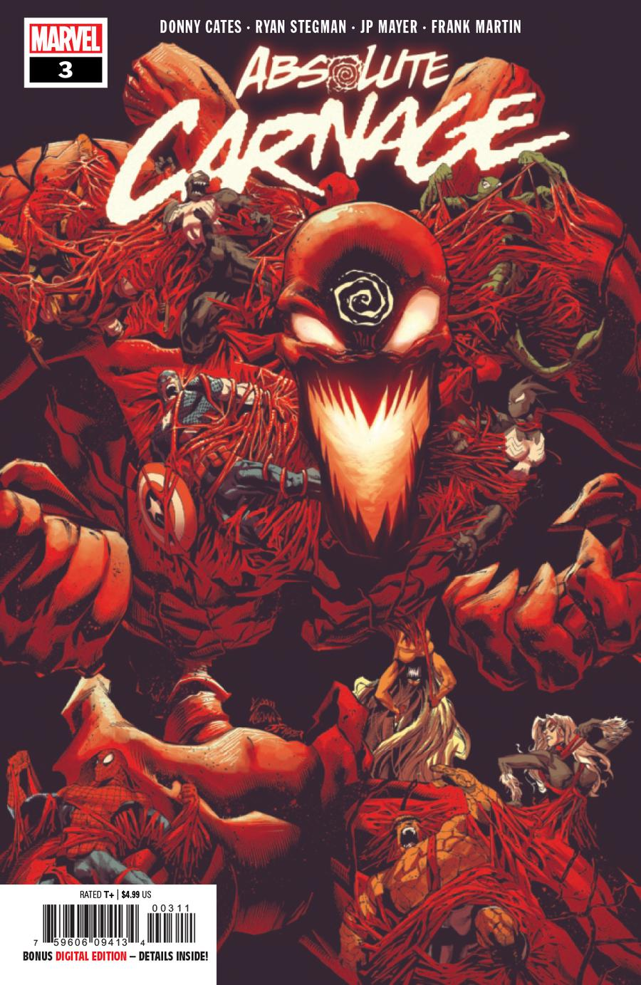 Absolute Carnage #3 Cover A 1st Ptg Regular Ryan Stegman Cover