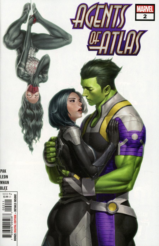 Agents Of Atlas Vol 3 #2 Cover A Regular Junggeun Yoon Cover