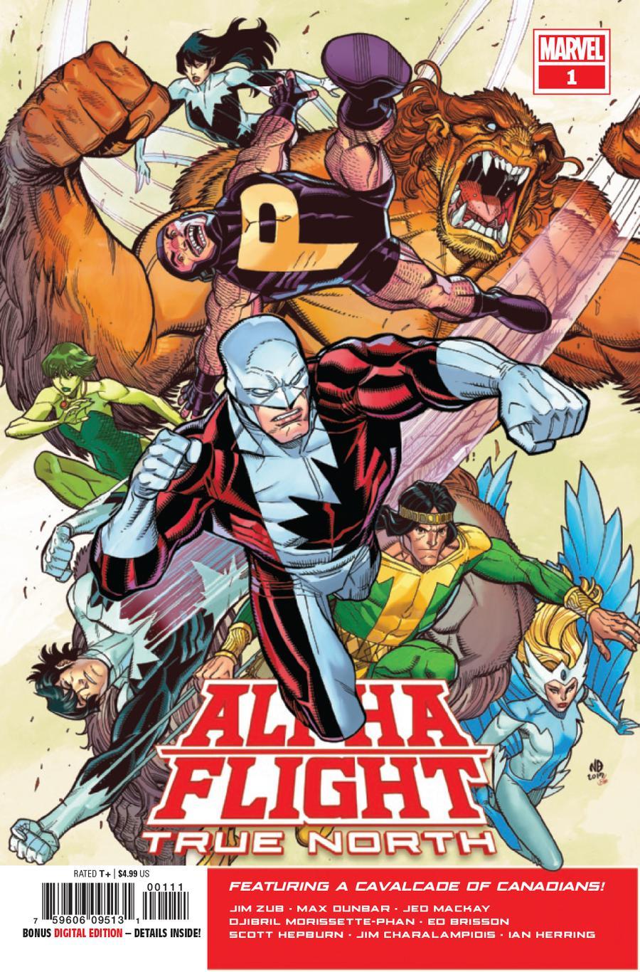 Alpha Flight True North #1 Cover A Regular Nick Bradshaw Cover