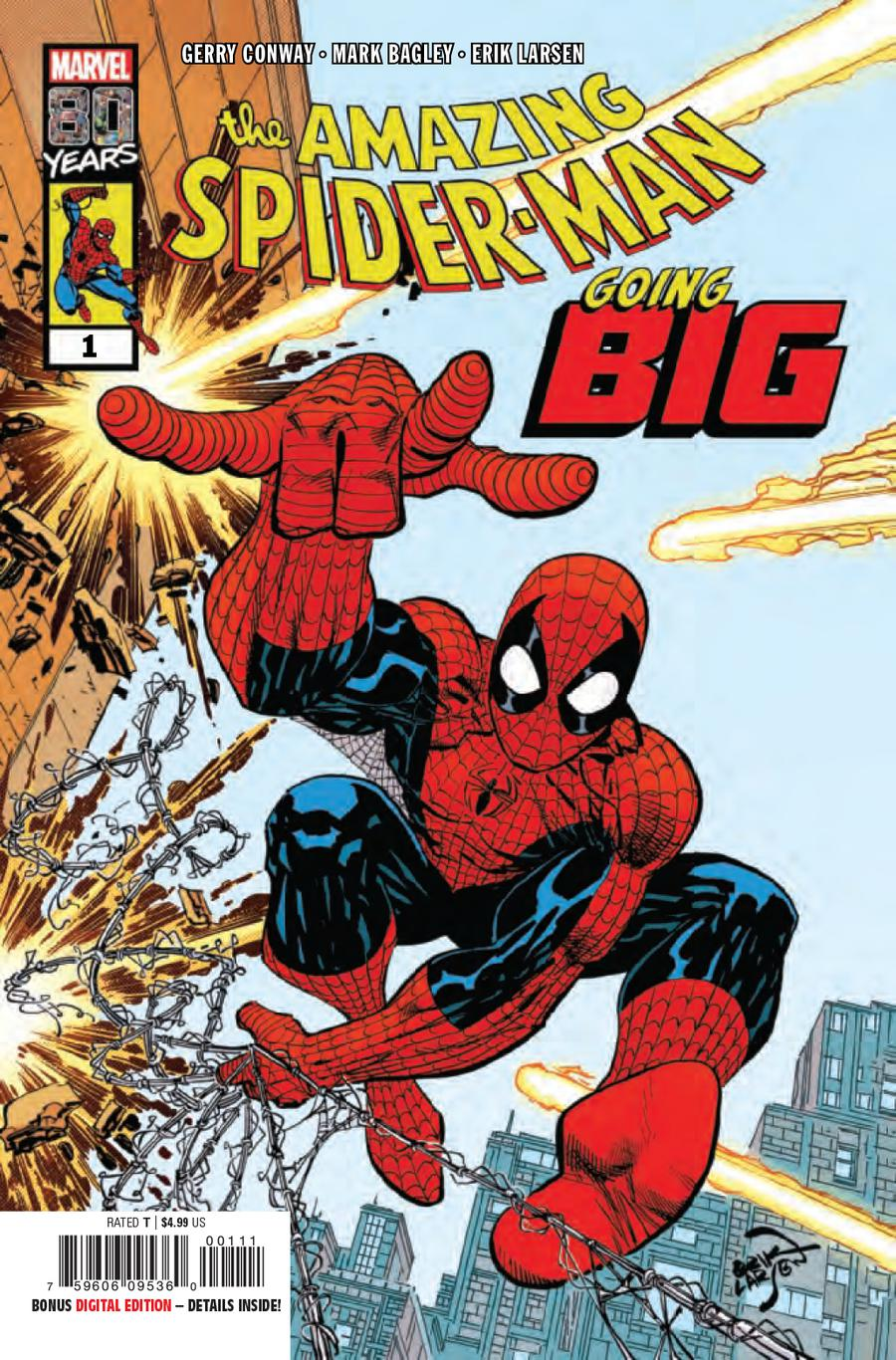 Amazing Spider-Man Going Big #1 Cover A Regular Erik Larsen Cover