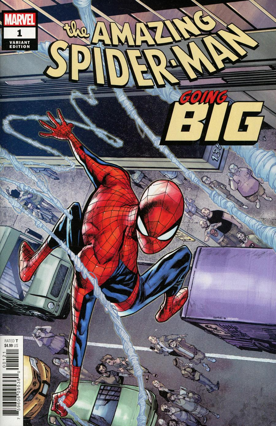 Amazing Spider-Man Going Big #1 Cover B Variant Humberto Ramos Cover