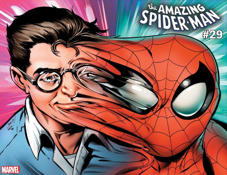 Amazing Spider-Man Vol 5 #29 Cover B Variant Mark Bagley Immortal Wraparound Cover