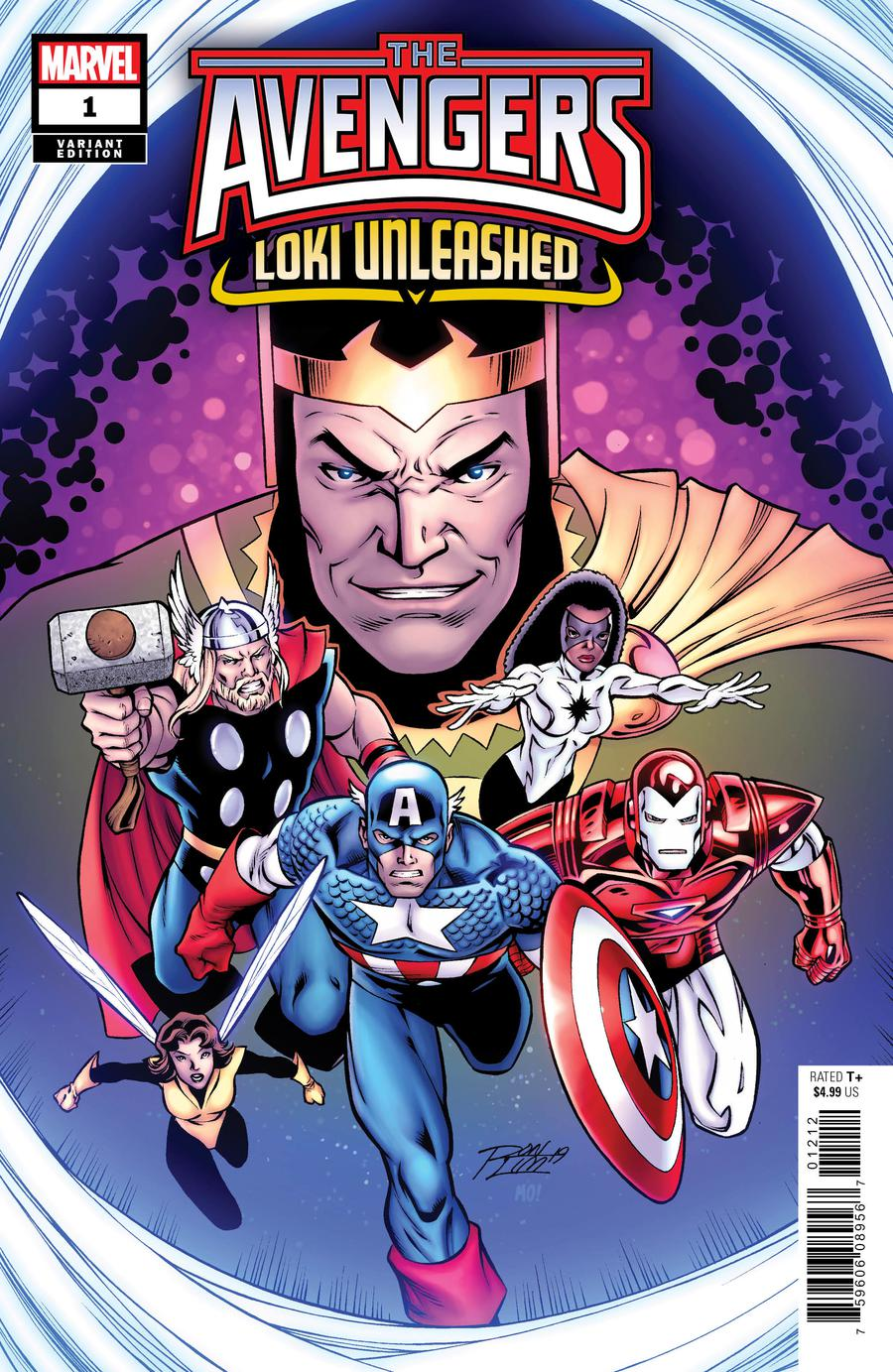 Avengers Loki Unleashed #1 Cover B Variant Ron Lim Cover