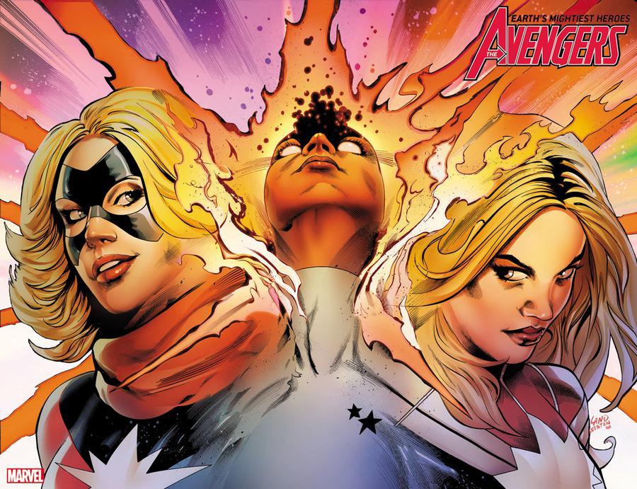 Avengers Vol 7 #24 Cover B Variant Greg Land Immortal Wraparound Cover
