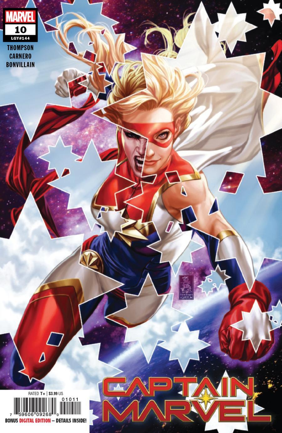 Captain Marvel Vol 9 #10 Cover A 1st Ptg