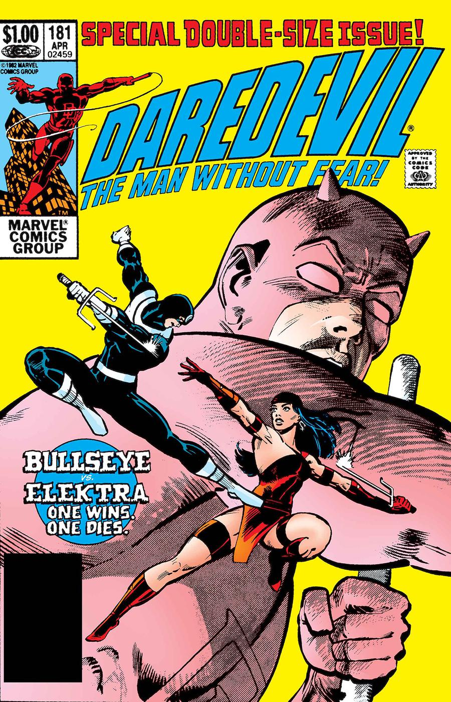 Daredevil #181 Cover B Facsimile Edition