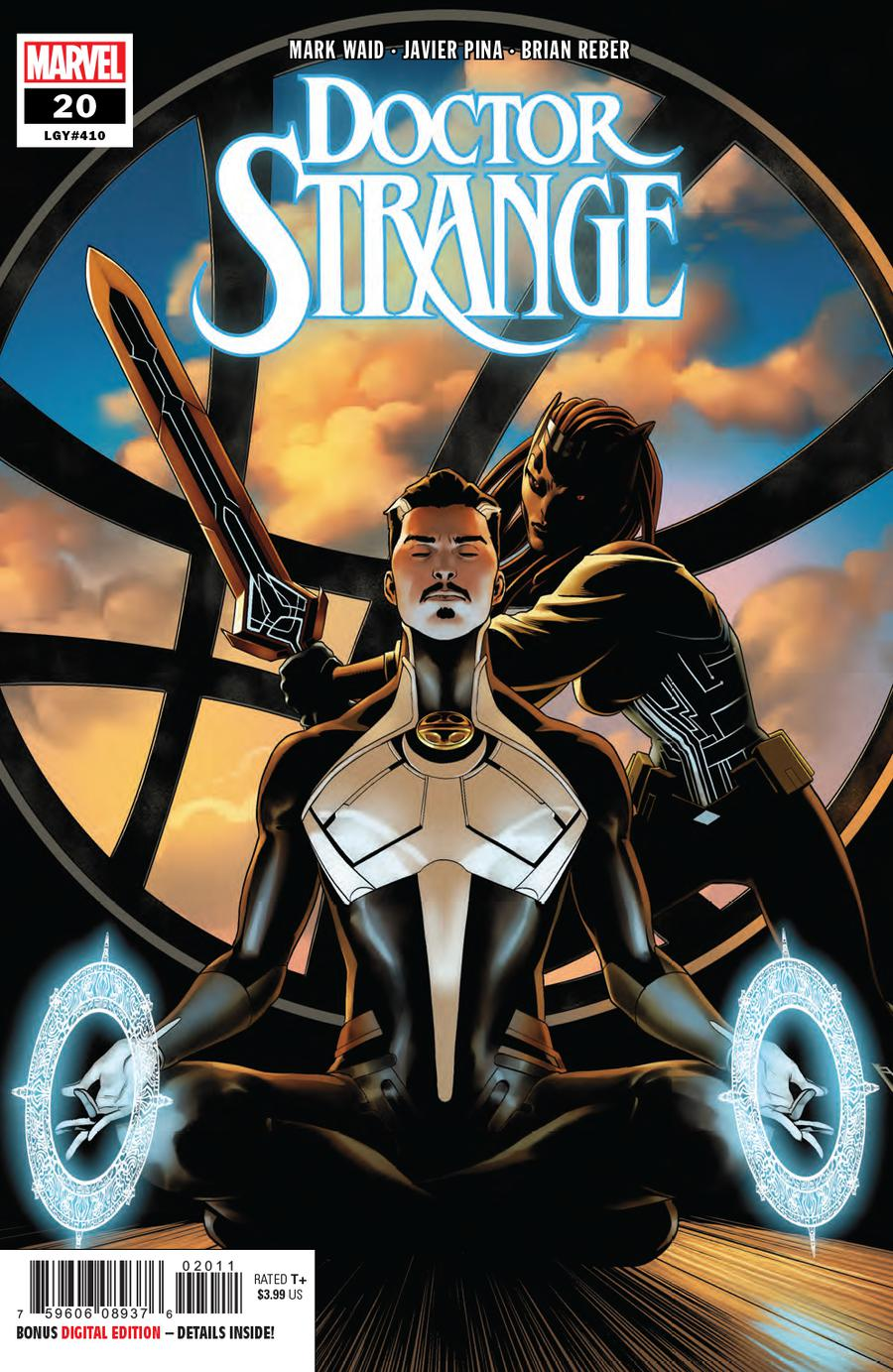 Doctor Strange Vol 5 #20 Cover A Regular Jesus Saiz Cover