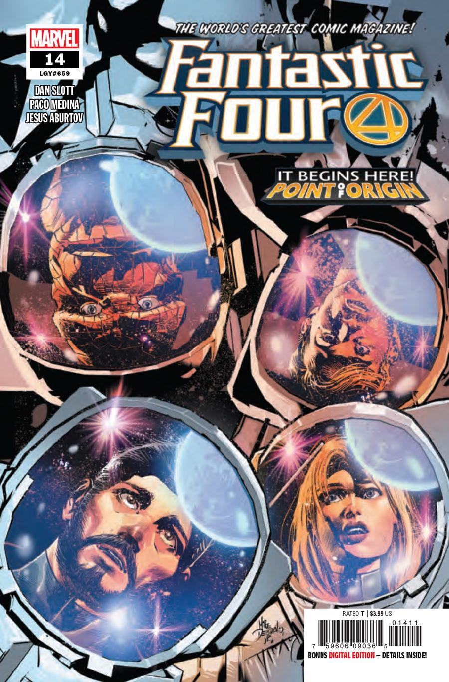 Fantastic Four Vol 6 #14 Cover A Regular Mike Deodato Jr Cover