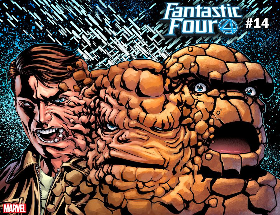 Fantastic Four Vol 6 #14 Cover B Variant Mike McKone Thing Immortal Wraparound Cover