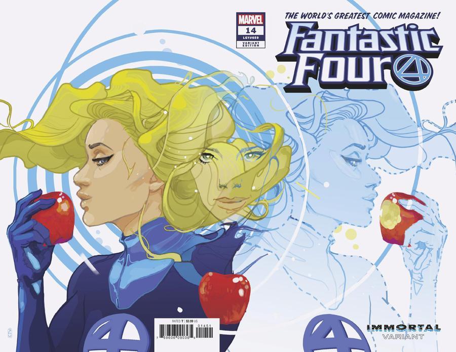 Fantastic Four Vol 6 #14 Cover E Variant Christian Ward Invisible Woman Immortal Wraparound Cover