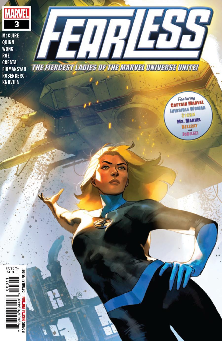 Fearless #3 Cover A Regular Yasmine Putri Cover
